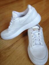 Reebok Classic SOLID White Athletic Sport Tennis RB 603 Men Shoes Size 4