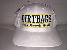 Vtg Long Beach State Dirtbags Snapback hat cap rare 90s THE GAME NCAA College