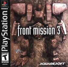 Front Mission 3 PS1 Great Condition Fast Shipping