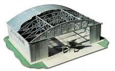 Military aviation hangar 1:48 laser cut cardboard model kit