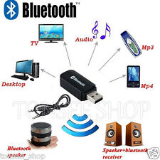 Universal 3.5mm Bluetooth USB Stereo Audio Music Speaker Receiver Adapter