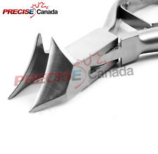 TOE NAIL CLIPPER CUTTER PEDICURE, MOON SHAPE, EXCELLENT QUALITY
