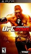 UFC Undisputed 2010 - Sony PSP, Good Sony PSP, Sony PSP Video Games
