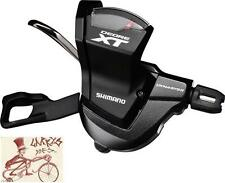 SHIMANO XT M8000 RAPID FIRE 11 SPEED BLACK REAR BICYCLE RIGHT SHIFTER