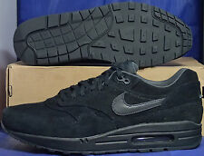 Nike Air Max 1 Premium Black Anthracite SZ 12 ( 512033-011 )