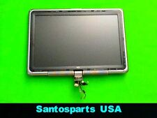 "** ORIGINAL** HP TX1000 TX1410US 12.1"" LCD Half Top Set Display = Regular Screen"