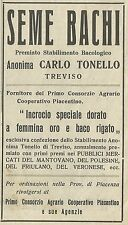 W6139 Seme Bachi Carlo Tonello_Treviso - Pubblicità 1934 - Advertising