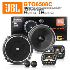 "NEW 2013 JBL GTO6508C 6-1/4 Inch 6.5"" 17cm 2 way Compontent Car Splits Speaker"