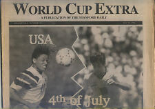 1994 World Cup Programme USA - Brazil, 04.07.1994 Stanford Stadium San Francisco