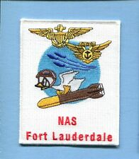 NAS NAVAL AIR STATION FT LAUDERDALE FL US Navy Base Squadron Cruise Jacket Patch