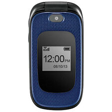 ~UNLOCKED~ ZTE GoPhone Z222 Cell Phone (AT&T T-Mobile) Camera Cellular GSM ~Blue