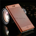 Luxury Detail Slim Leather Flip Case Wallet Cover for Apple iPhone 6 6S & Plus S
