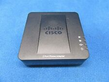 Cisco SPA112 2-Port VoIP Phone Adapter Module *Tested Working*