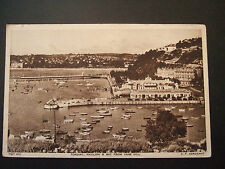 Postcard. Torquay, Pavilion & Bay, from Vane Hill. From F.Frith & Co. Unposted
