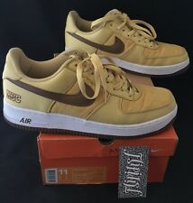 VTG NIKE AIR FORCE 1 AF-1 NYC GOLD DUST PREMIUM SUPREME OLYMPIC RARE OG SIZE 11