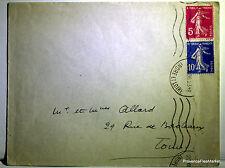 SEMEUSE  sur lettre   -   201ca79