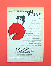 D176 - Advertising Pubblicità - 1953 - DOT.SSA PAYOT CREME EMBRYONNAIRE