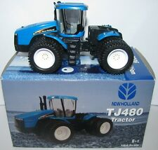 New Holland TJ480 Tractor w/Duals 2006 Farm Show Edition ERTL Toy 1/64 nh  NEW