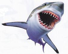 TEE SHIRT Manches Longues REQUIN SHARK SQUALE S . M . L . XL . XXL . XXXL + ENFA