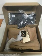 15R Army USMC Cold Weather Tan Combat Boots Belleville Gore-tex Vibram Military