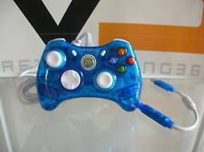 Rock Candy Wired Controller, Blue, Xbox 360, licenziato Microsoft, excellent con