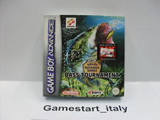 BASS TOURNAMENT - GREAT OUTDOOR GAMES - (NINTENDO GAMEBOY ADVANCE GBA) NUOVO NEW