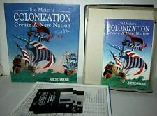 SID MEIER'S COLONIZATION CREATE A NEW NATION USATO PC FLOPPY VER UK RS2 41538