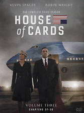 House of Cards: The Complete Third Season 3 (DVD) New, Free Shipping!