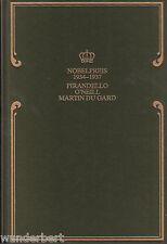 *- Nobelpreis für LITERATUR 1934-1937 - PIRANDELLO/O'Neill/du GARD  gebunden
