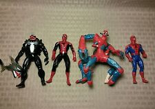 Marvel Toy Biz Action Figure Lot Spider-Man Web Trap Monster Venom B