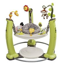 Evenflo ExerSaucer Jump & Learn JUMPER, Baby ACTIVITY CENTER, Jungle Quest
