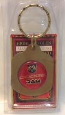 NEW DODGE  RAM Logo Keychain ~ DODGE  Porte-Cle Neuf ~ USA Product ~NWT~NOS