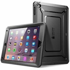 Apple iPad 5/Air Case Full-body Rugged Built-in Screen Protector Bumper Shell