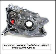 MITSUBISHI L200 K74  2.5TD 4D56T Oil Pump - 01/1996- 07/2001 ONLY