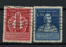 Italy 1949 SG#737-8 Election Cell Used Set Cat £48 #A70787