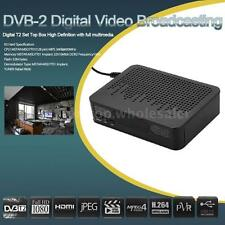 DVB-T2 Digital Video Broadcasting Terrestrial Receiver HD 1080P Set Top Box HDTV
