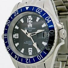 Helium SAFE Professional GERMAN Tauchmeister DIVER SWISS-GMT 60ATM T0138