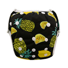 Fruit Swim Diaper Nappy Pants Adjuatable Reusable Infant Baby Boy Girl Pineapple