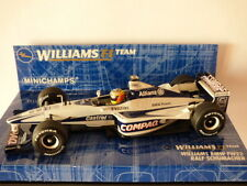 Minichamps Williams F1 Team Williams BMW FW22 Ralf Schumacher No: 430000009