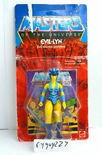 MOTU, Evil-Lyn, Masters of the Universe, MOC, carded, sealed, Lynn, He-Man, MIB