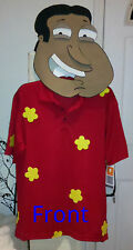Custom Funny Family Guy Quagmire Adult Halloween Tough Mudder Costume Mens XL