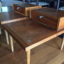 Gorgeous Pair American of Martinsville Mid Century Night Stands End Tables