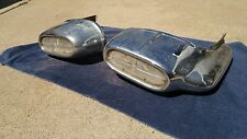 1958 PONTIAC FRONT BUMPER ENDS CHIEFTAIN STAR CHIEF BUMPERETTES TURN SIGNALS NR