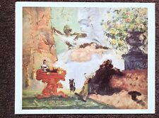 Cezanne Vintage PRINT 1996 A Modern Olympia Impressionism Paradise Art Painting