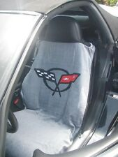 Gray Corvette C5 Seat Armour Seat Cover/ Seat Towel