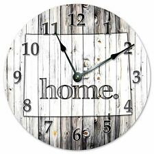 "WYOMING RUSTIC HOME STATE CLOCK - Large 10.5"" Wall Clock - 2260"