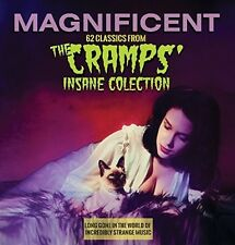 Magnificent: 62 Classics From The Cramps Insane Co (2016, CD NIEUW)