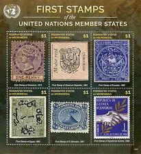 Micronesia 2015 Mnh primeros sellos de las Naciones Unidas de las Naciones Unidas los Estados miembros 6v m/s Iv