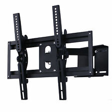 "Articulating TV Wall Mount 32 40 46 50 55 60 65 70"" LCD LED Swivel Tilt"
