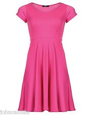 WOMEN'S CERISE KOKO SKATER DRESS - SIZE 24 - BRAND NEW WITH TAGS! RRP £25